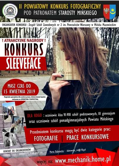 Plakacik SleeveFace edycja 2